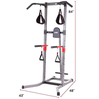 Body Champ VKR1987 Home Gym Tower