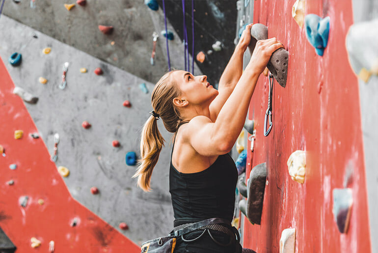 Get Ripped from Rock Climbing