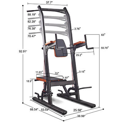 HARISON Multifunction Power Tower with Bench