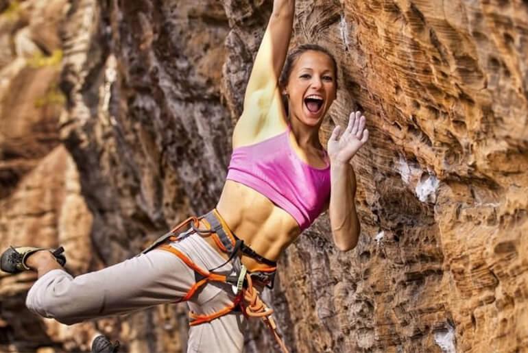 Sasha DiGiulian Pro Climber