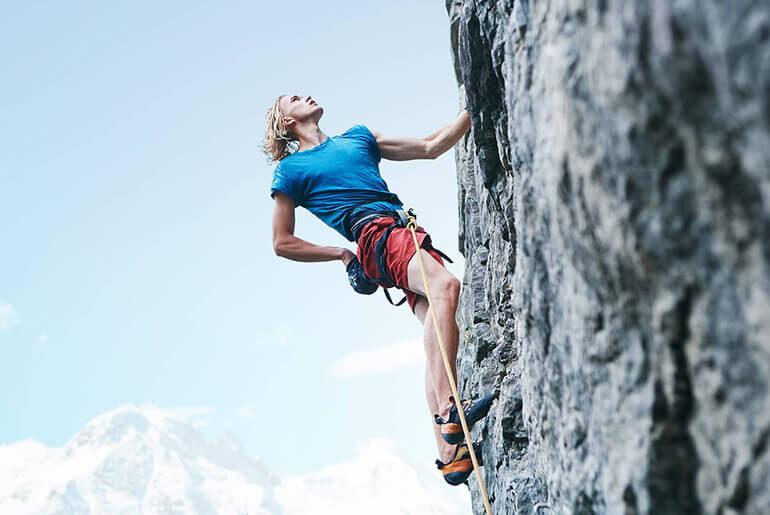 rock climbing muscles