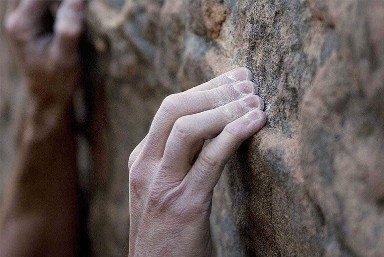 climbing hand care