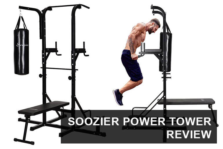 Soozier Power Tower with Punching Bag Review