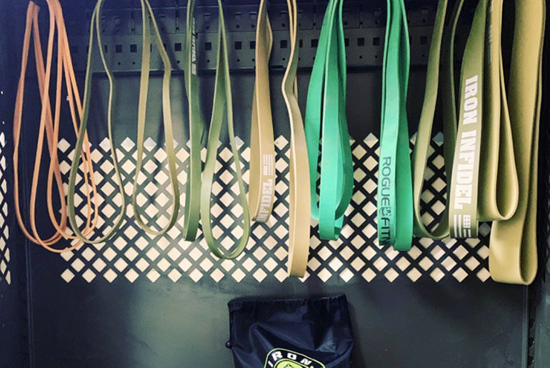 how to clean resistance bands
